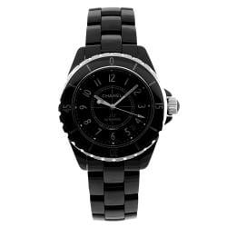 Chanel Unisex J12 Automatic Black Ceramic Watch