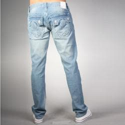 Laguna Beach Jean Co. Men's Phantom Pocket Light Blue Slim Fit Hermosa Beach Denim - Thumbnail 1