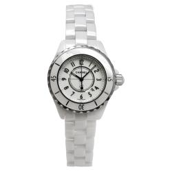Chanel Women's J12 White Ceramic Watch
