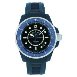 Chanel Men's J12 Blue Rubber Watch