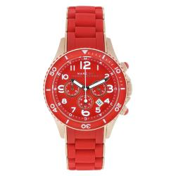 Marc Jacobs Women's Rock Red Silicone Watch
