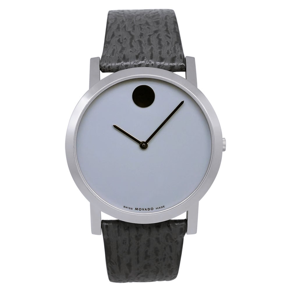 Movado Men's Museum Leather Watch