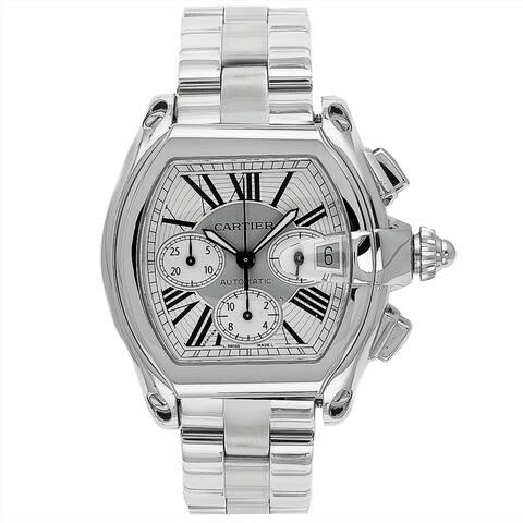 Cartier Men's Roadster Stainless Steel Watch