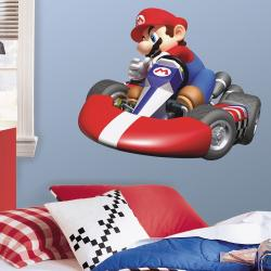 RoomMates Nintendo Mario Kart Peel and Stick Giant Wall Decal