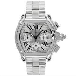 Cartier Men's Roadster Stainless Steel Watch|https://ak1.ostkcdn.com/images/products/80/111/P14346688.jpg?impolicy=medium