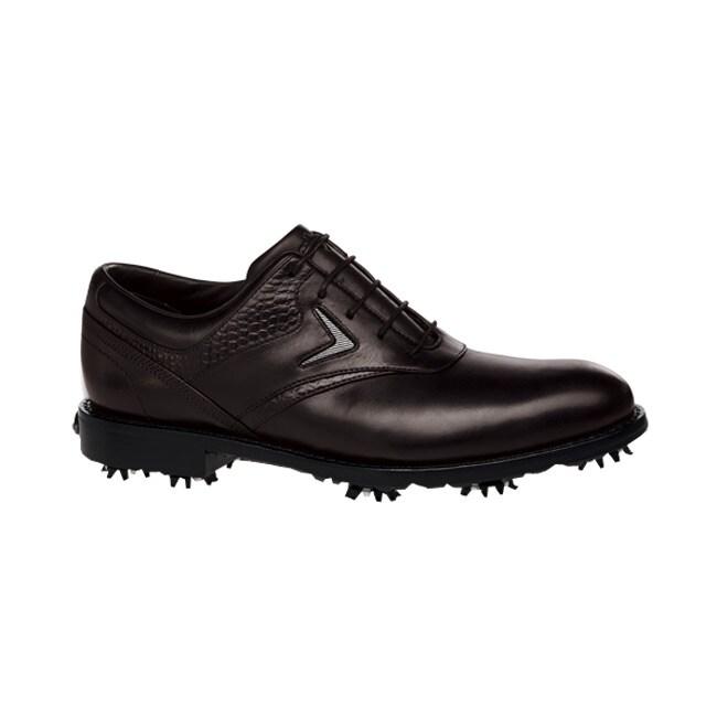 Callaway Men's Tour Authentic FT Chev Saddle Brown Golf Shoes