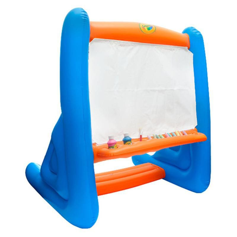 Crayola Giant 45 foot Inflatable Easel Free Shipping On  : L14348294 from www.overstock.com size 800 x 800 jpeg 25kB