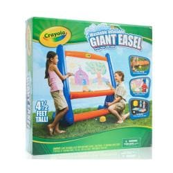 Crayola Giant 4 5 Foot Inflatable Easel Free Shipping On
