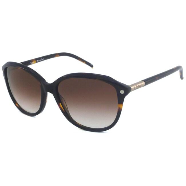 Chloe Women's CL2253 Rectangular Sunglasses