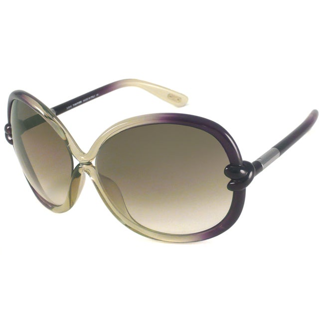 Tom Ford TF0185 Sonja Women's Oversize Sunglasses