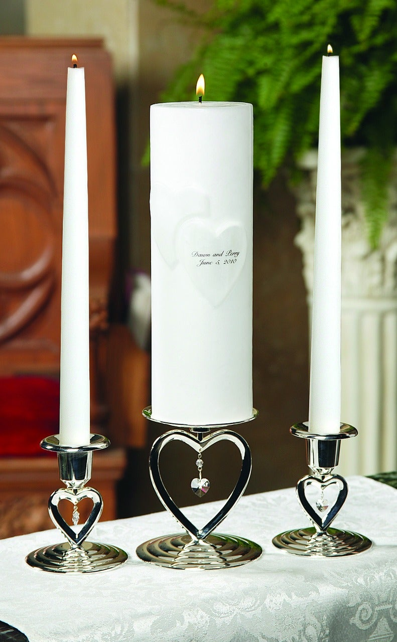 Heart to Heart Candle Stand Set