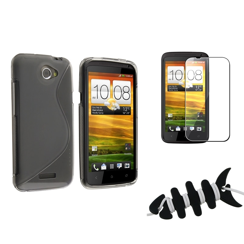 Smoke TPU Case/ Protector/ Wrap for HTC One X