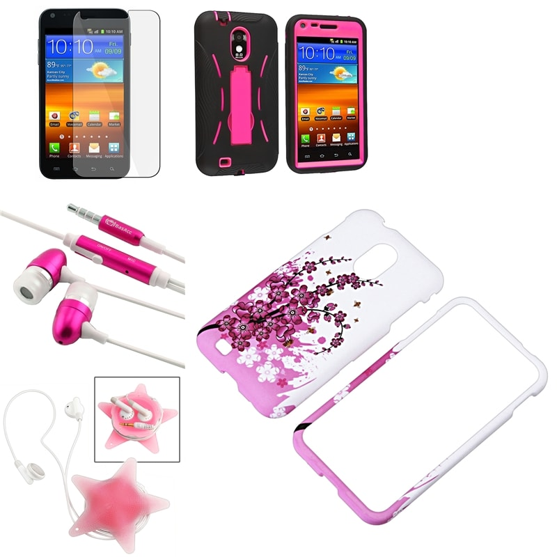 BasAcc Cases/ LCD Protector/ Headset for Samsung Epic 4G Touch D710