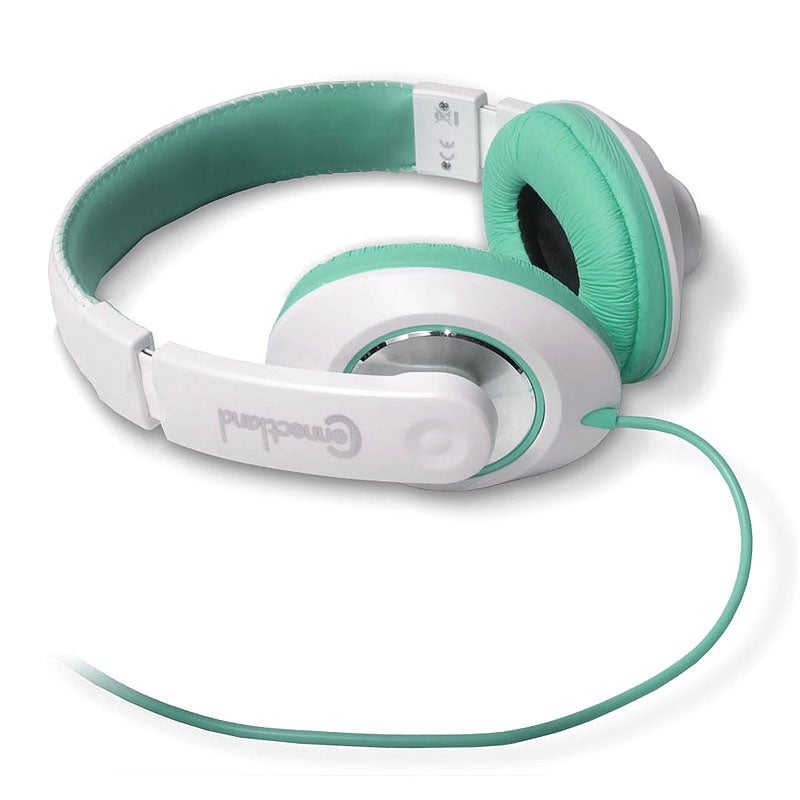 SYBA Connectland White/ Teal Over-ear Headset CL-AUD63035