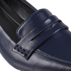 Journee Collection Women's 'Boss-08' Faux Leather Square Toe Loafers - Thumbnail 2