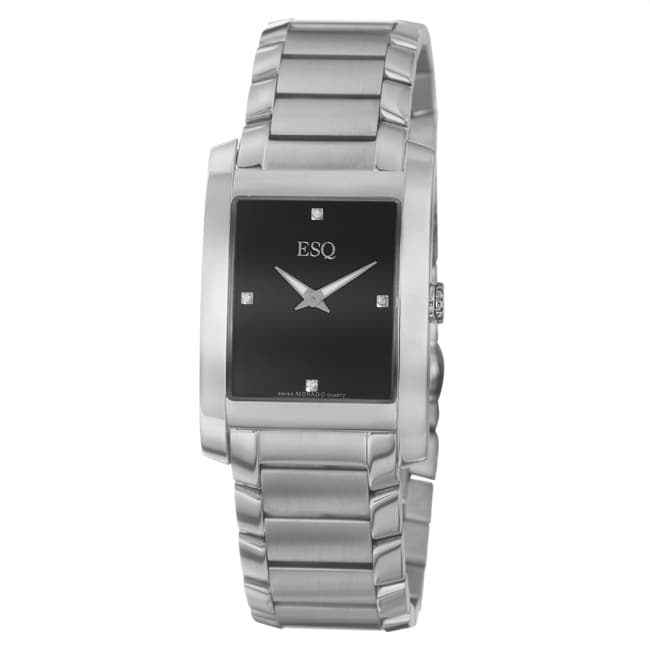 ESQ by Movado Men's 'Venture' Stainless Steel Swiss Quartz Watch - Thumbnail 0