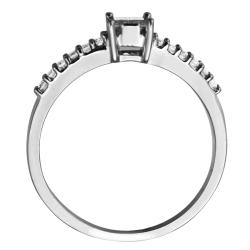 14k White Gold 2/5ct TDW Diamond Engagement Ring (G-H, SI1-SI2)