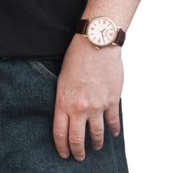Monument Men's Roman Numeral Watch