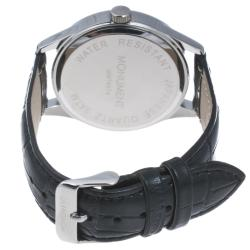 Monument Men's Faux Crocodile Strap Analog Watch - Thumbnail 1