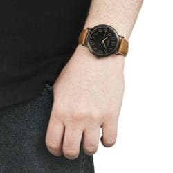 Monument Men's Synthetic Leather Strap Analog Watch - Thumbnail 2