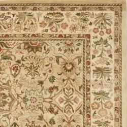 Safavieh Handmade Persian Legend Ivory Wool Rug (7'6 x 9'6) - Thumbnail 1