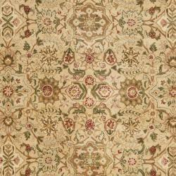 Safavieh Handmade Persian Legend Ivory Wool Rug (7'6 x 9'6) - Thumbnail 2