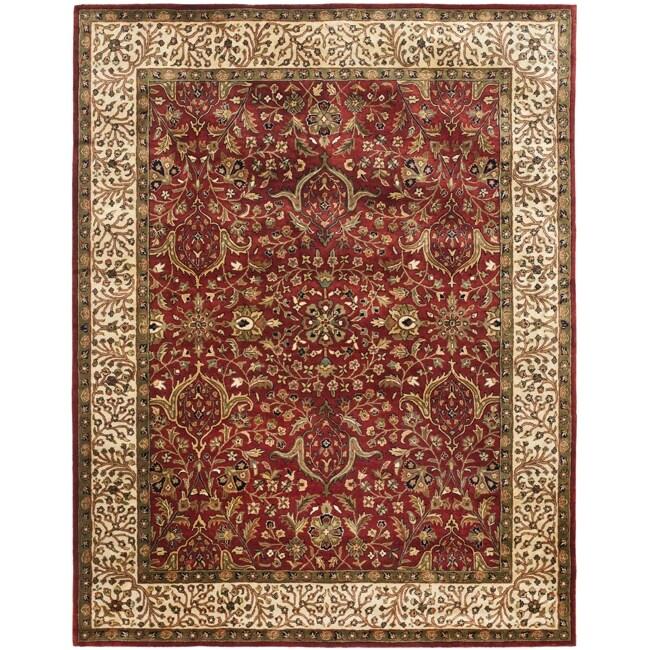 Safavieh Handmade Persian Legend Red/ Ivory Wool Rug - 9'6 x 13'6