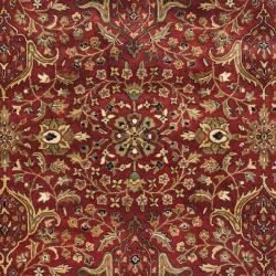 Safavieh Handmade Persian Legend Red/ Ivory Wool Rug (9'6 x 13'6) - Thumbnail 2