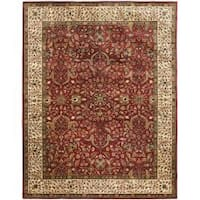 Safavieh Handmade Persian Legend Red/ Ivory Wool Rug - 9'6 x 13'6
