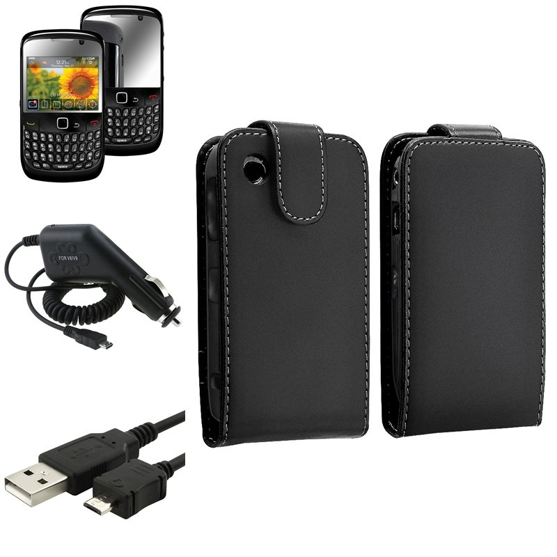 Case/ Screen Protector/ Cable/ Charger for BlackBerry Curve 8520