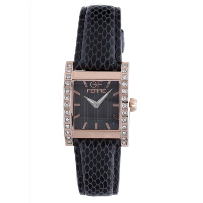 GF Ferre Women's Leather Watch