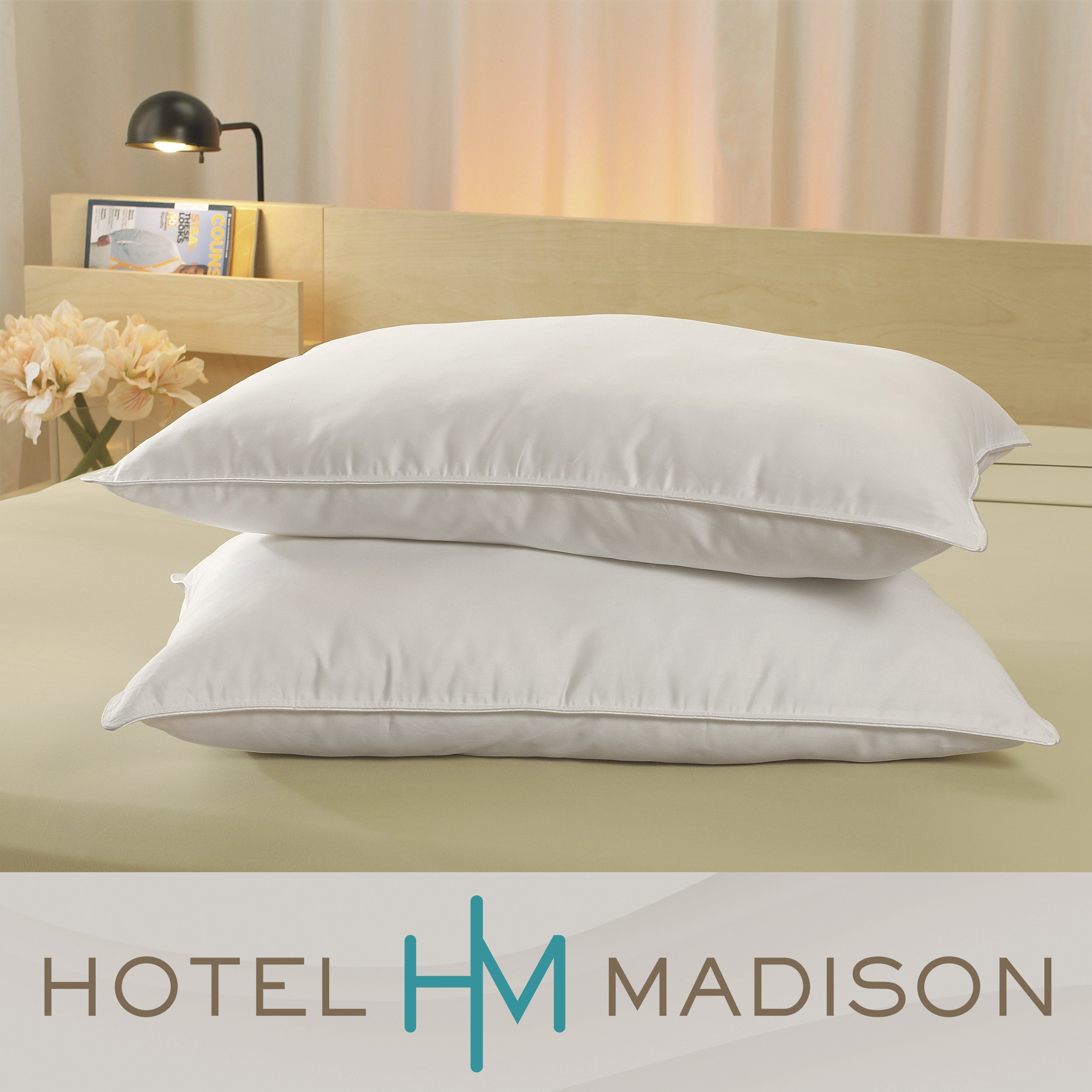 Hotel Madison Luxe Comfort Down Alternative Pillows (Set of 2)