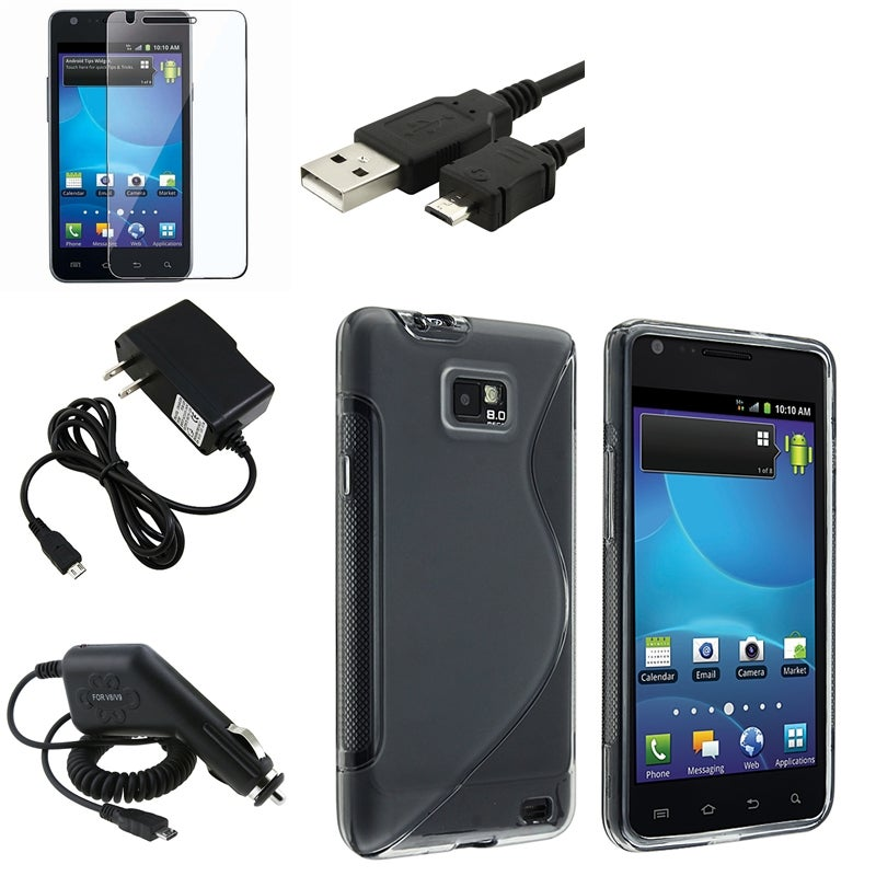 TPU Case/ Protector/ Cable/ Chargers for Samsung Galaxy S II AT&T i777