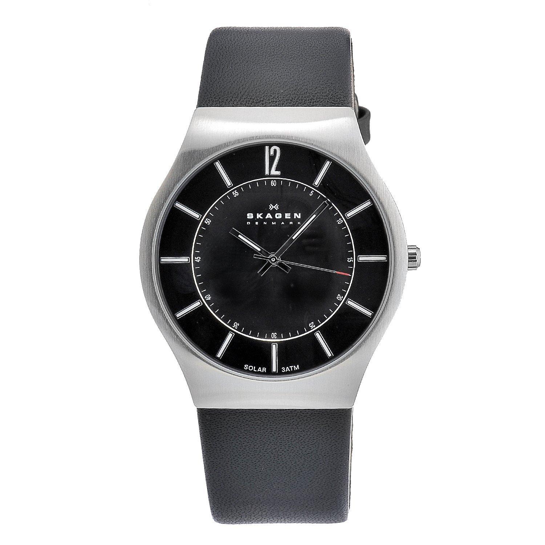 Skagen Men's Stainless Steel Solar Movement Watch