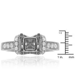 14k White Gold 3/5ct TDW Diamond Engagement Ring