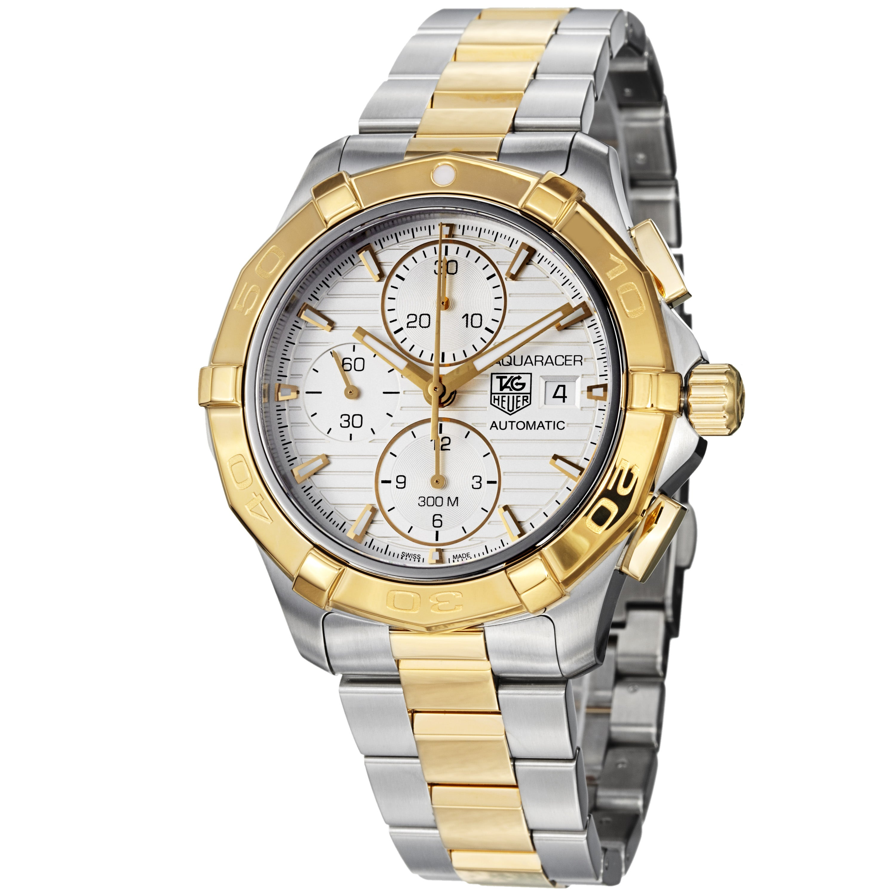 Tag Heuer Men's 'Aquaracer' Two Tone Automatic Chronograph Watch