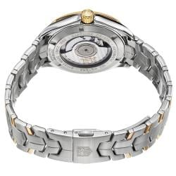 Tag Heuer Men's WAT2150.BB0953 'Link' Silver Dial Two Tone Stainless Steel Watch - Thumbnail 1