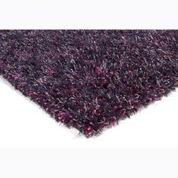 Hand-woven Talei Shag Rug (2'6 x 7'6)