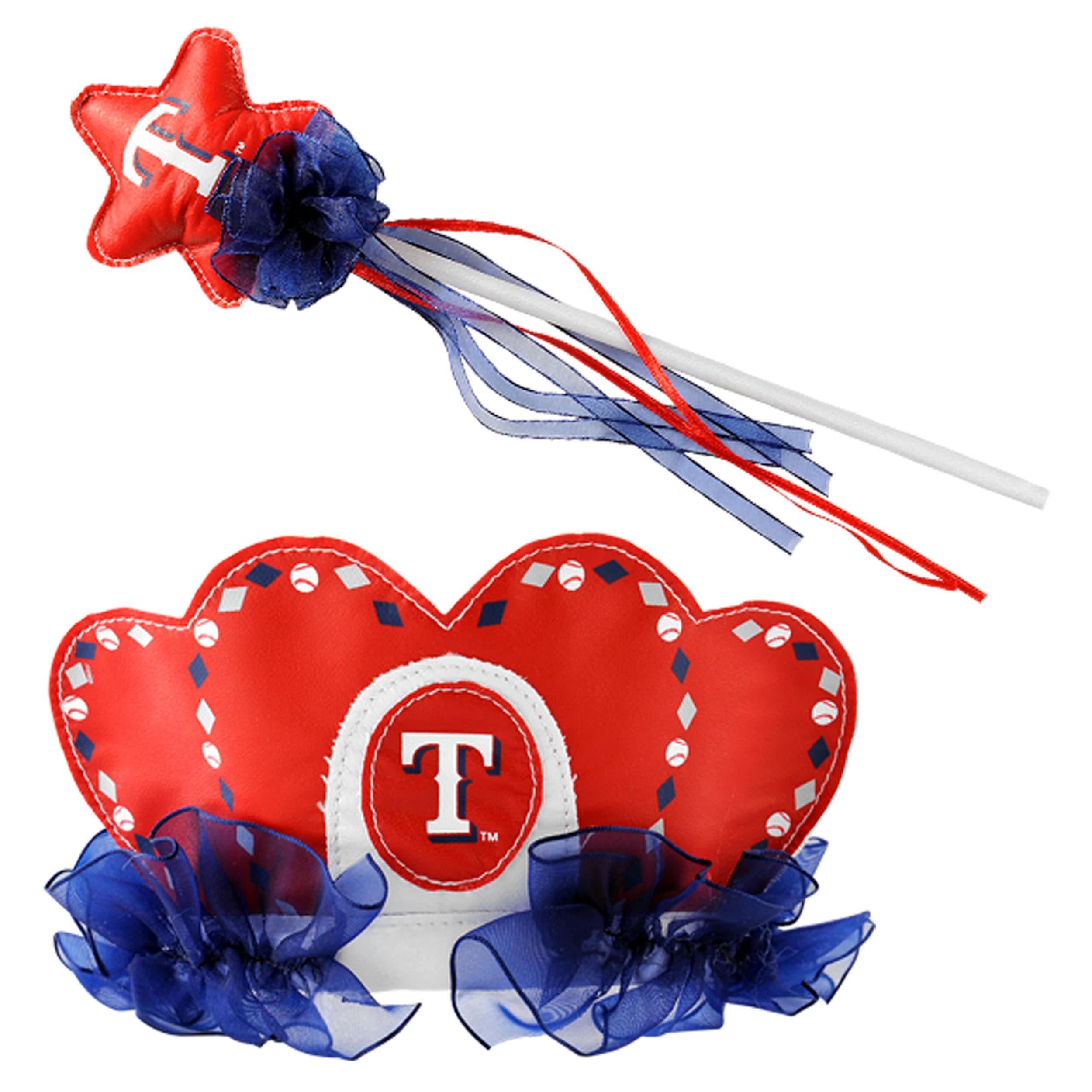 Texas Rangers Princess Tiara Wand Set