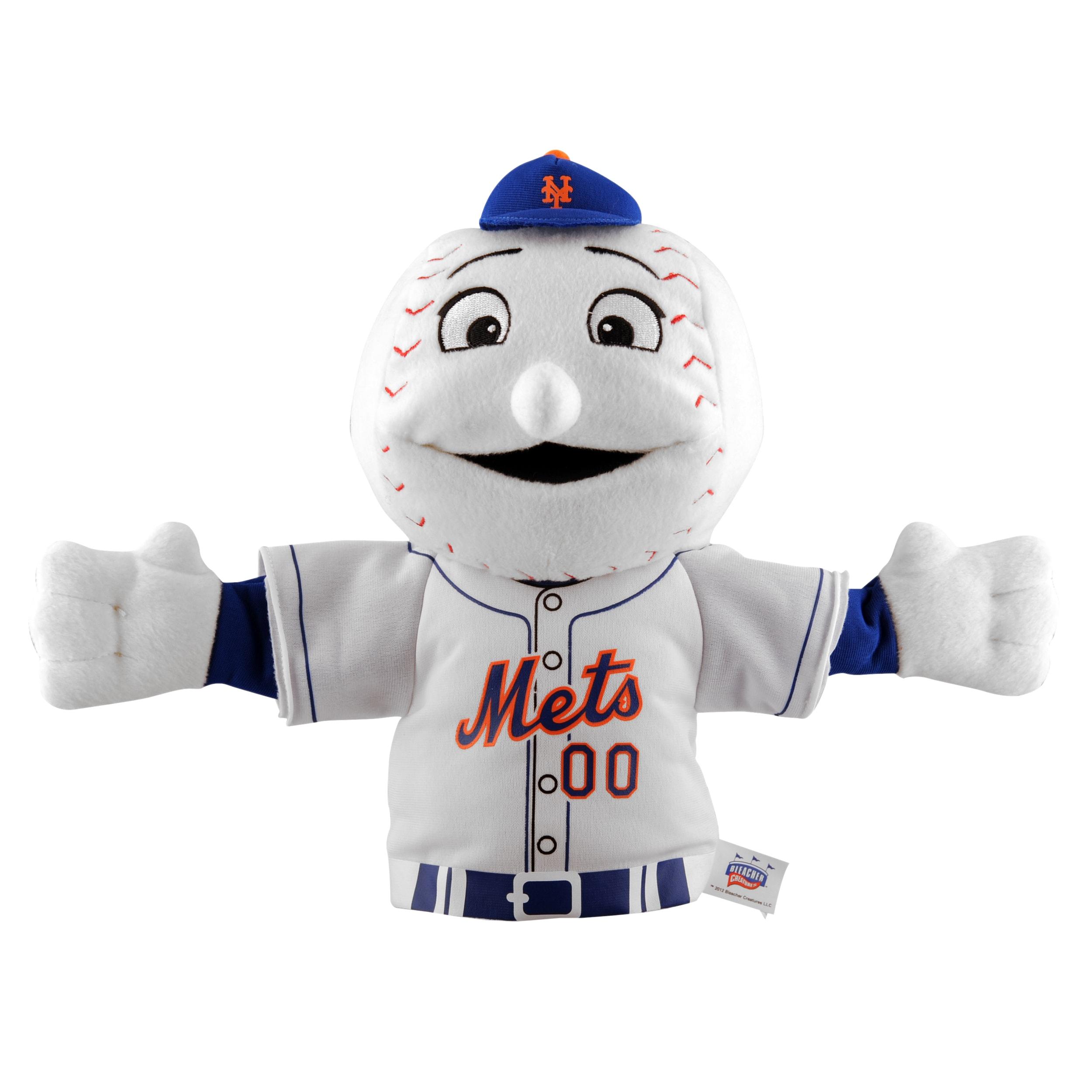 New York Mets 'Mr. Mets' Mascot Hand Puppet