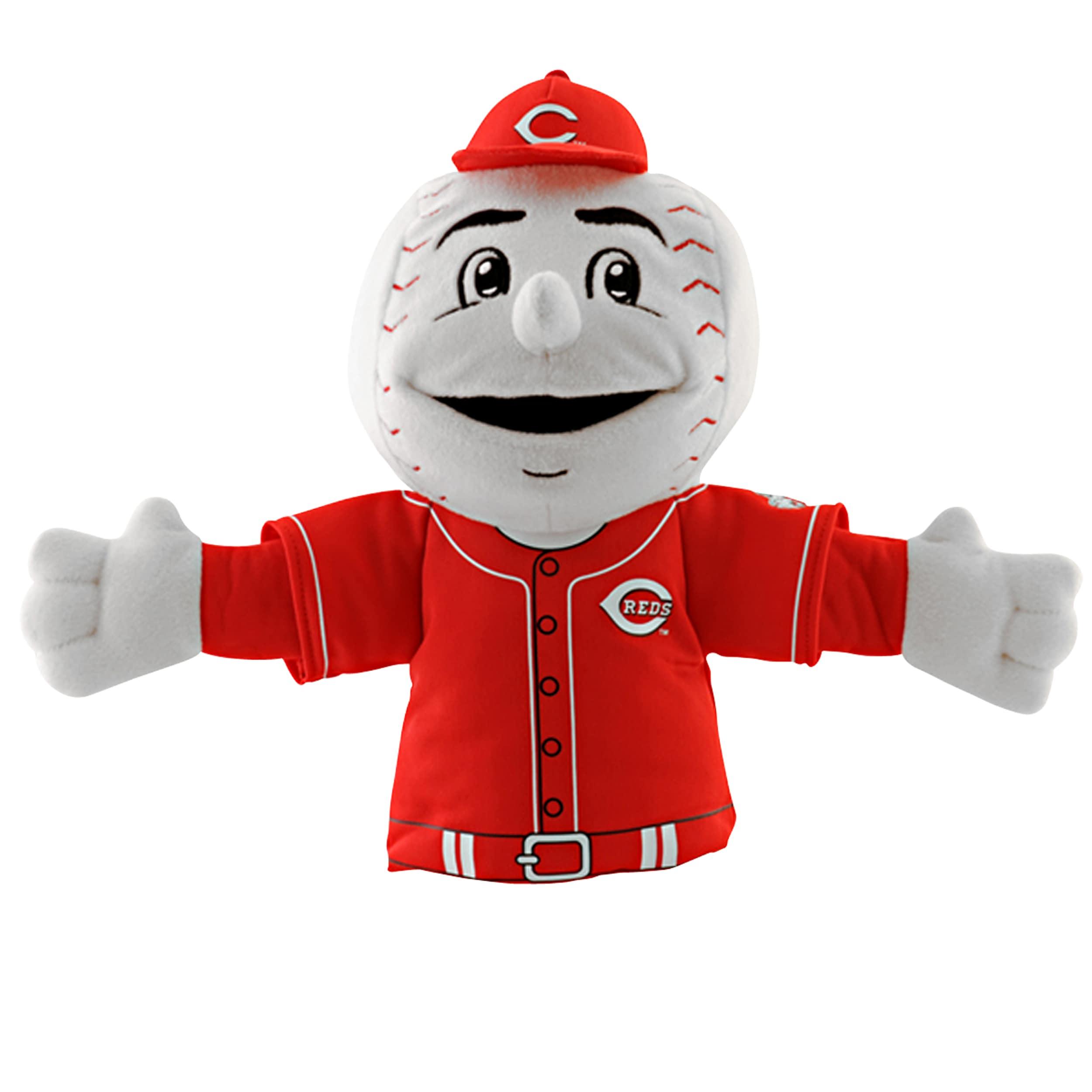 Cincinnati Reds 'Mr. Red' Mascot Hand Puppet