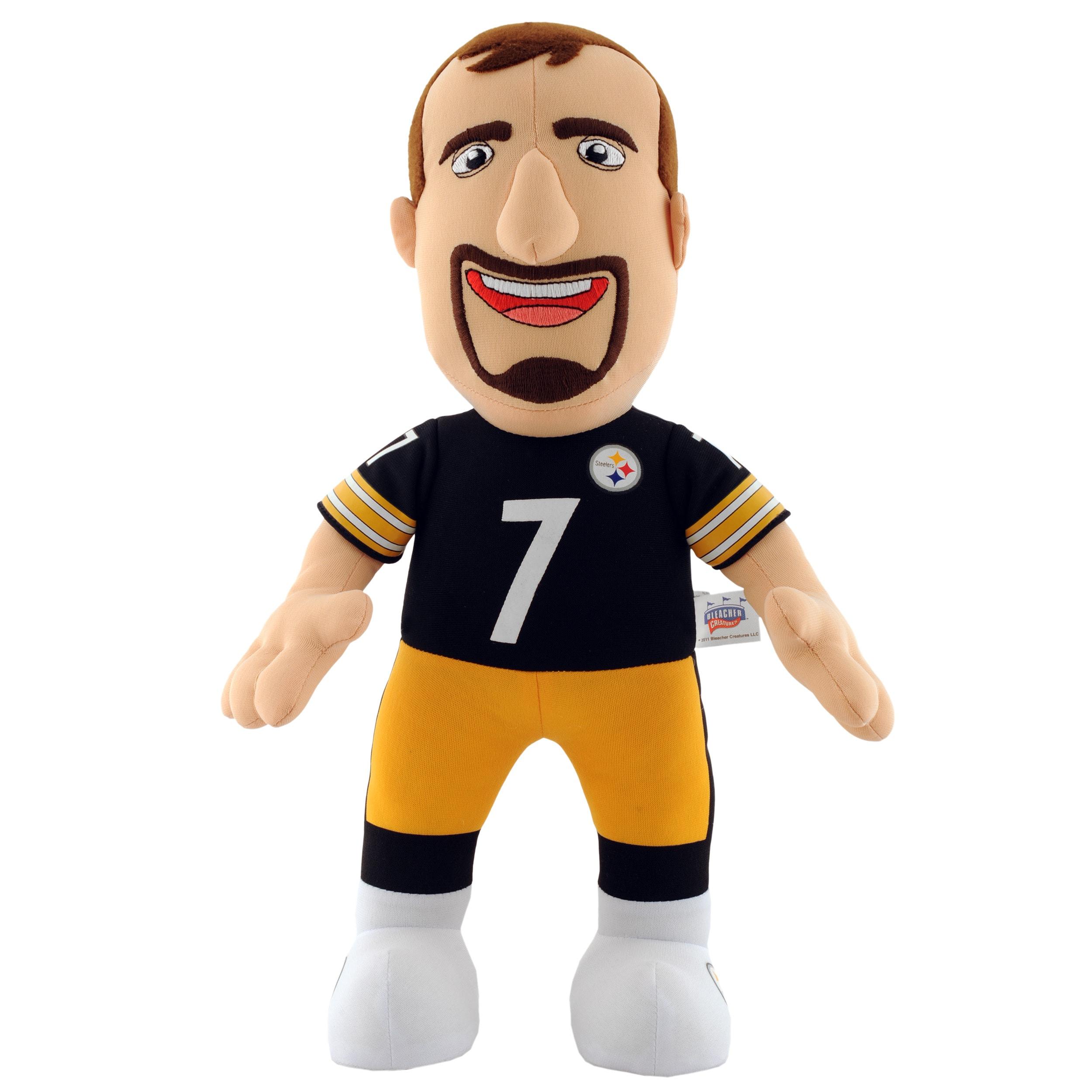 Pittsburgh Steelers Ben Roethlisberger 14-inch Plush Doll