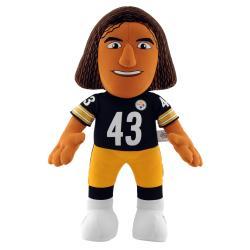 Pittsburgh Steelers Troy Polamalu 14-inch Plush Doll - Thumbnail 0
