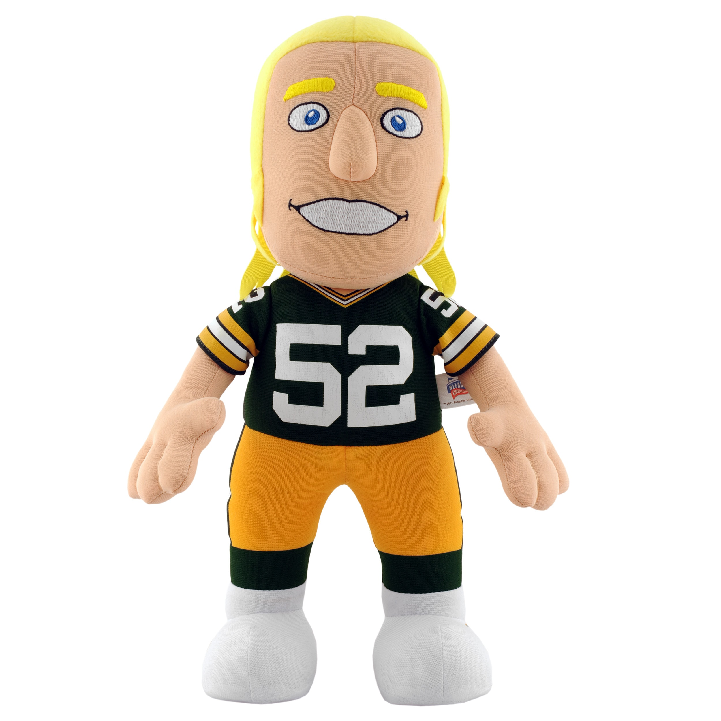 Green Bay Packers Clay Matthews 14-inch Plush Doll