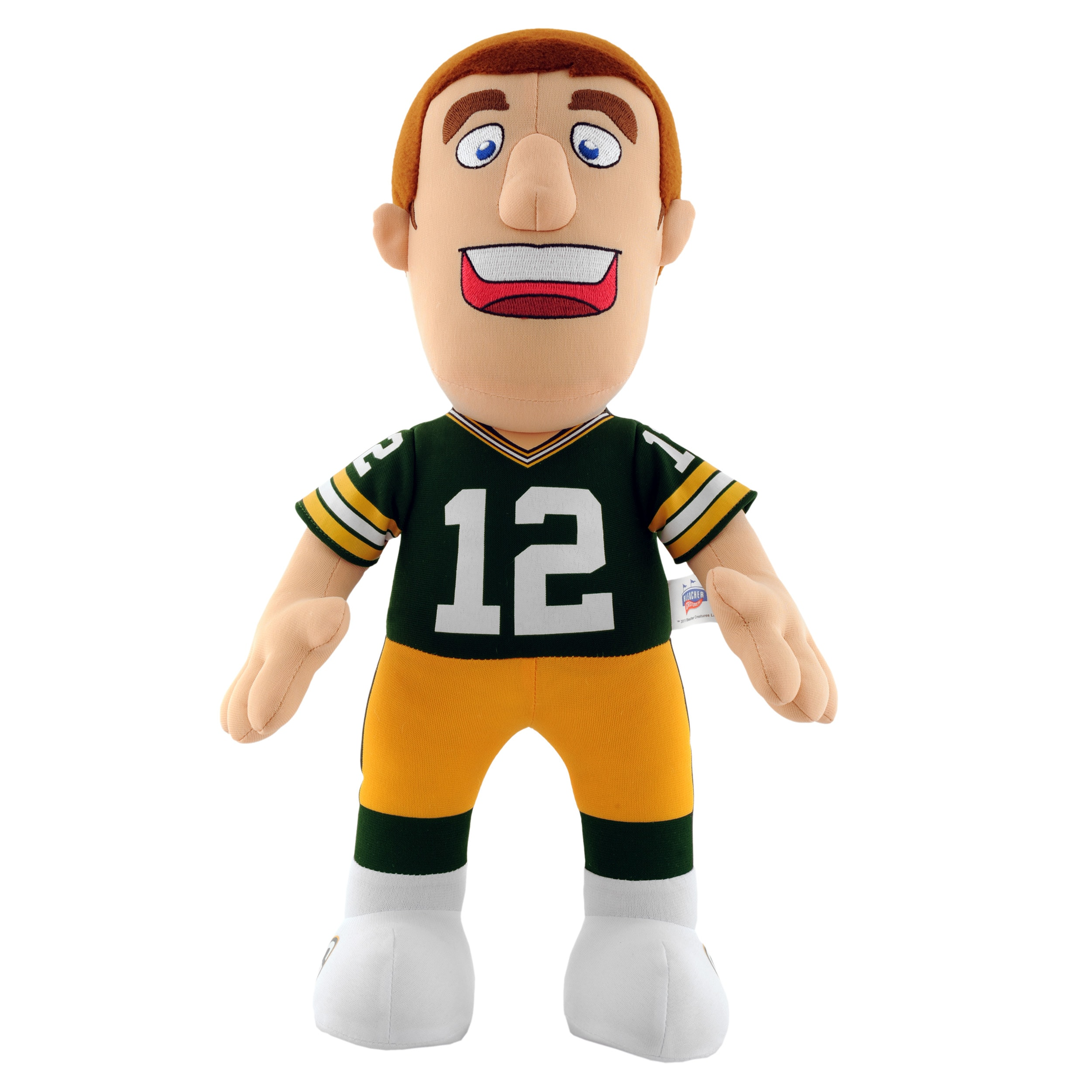 Green Bay Packers Aaron Rodgers 14-inch Plush Doll