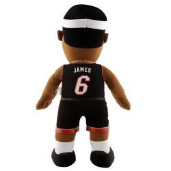 NBA-licensed Miami Heat Lebron James 14-inch Plush Polyester Doll - Thumbnail 1