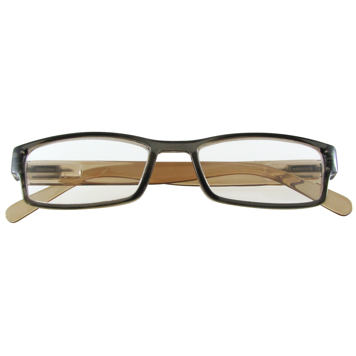 E-specs by Evolutioneyes Brown Plastic Computer Reading Glasses
