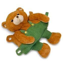 Zoobies 'Corduroy the Bear' Storytime Pal - Thumbnail 1