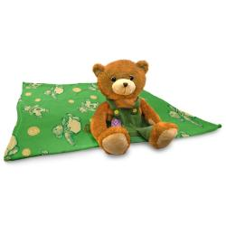 Zoobies 'Corduroy the Bear' Storytime Pal - Thumbnail 2