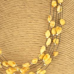 Handcrafted Butterscotch Baltic Amber Necklace (Lithuania)